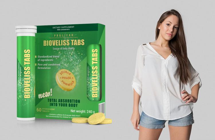 Bioveliss Tabs – működik, hatások, vélemények, ára