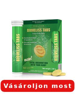 Bioveliss Tabs hatások